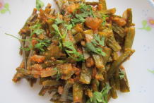 Cooked-Cluster-Beans