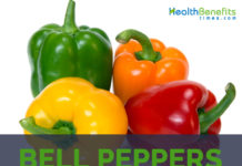 Bell Peppers facts and health benefits