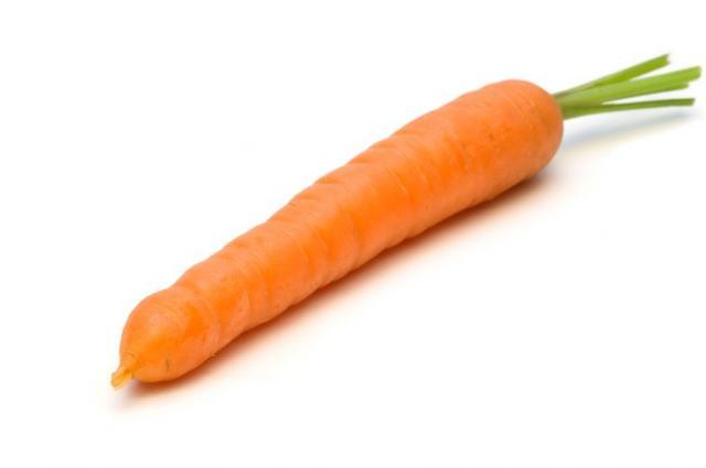 Orange Carrots consist...