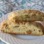 Olive oil biscotti