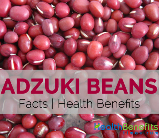 Adzuki beans Facts and Health Benefits