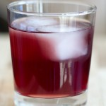 Black Currant Coconut Cocktail