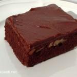 . Chocolate Brownie Cake