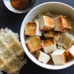 Waffled Miso-Sesame Tofu