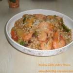 Seafood Paella with Job's Tears