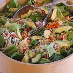 Avocado Salad with Pine Nuts