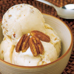 Homemade Butter Pecan Ice Cream