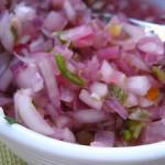 Onion salsa