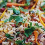 Orange and Pistachio Pilaf