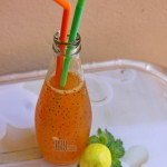 Basil Honey Orange Juice