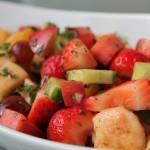 Chaat Masala Fruit Salad