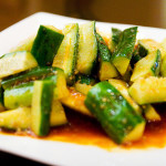 Szechuan Cucumber Salad
