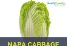 Napa cabbage facts and health benefits