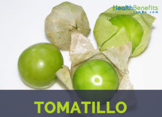 Tomatillo facts and health benefits