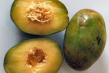Half cut-Ambarella-fruit