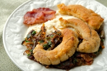 Shad-roe-with-bacon
