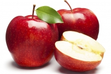 Half-cut-apple