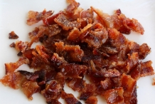 Chopped-bacon