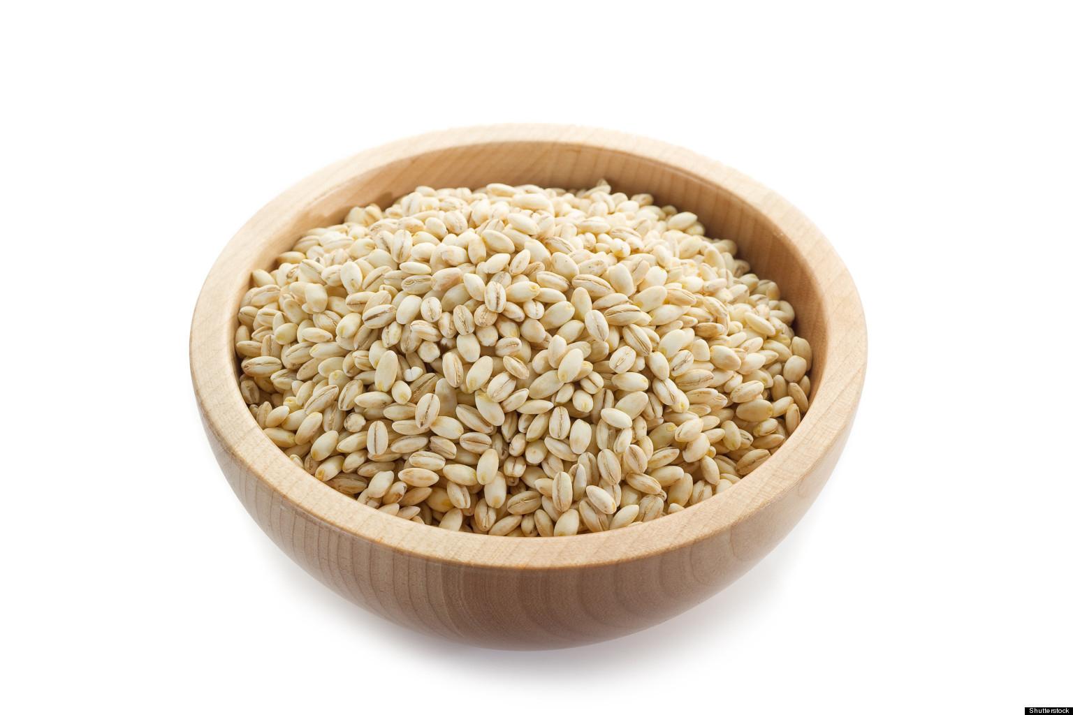 Barley-grains