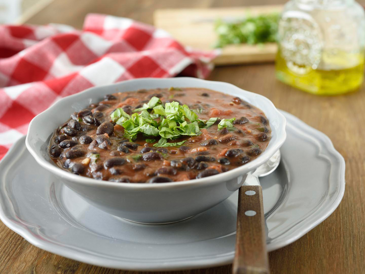 Black-bean-stew