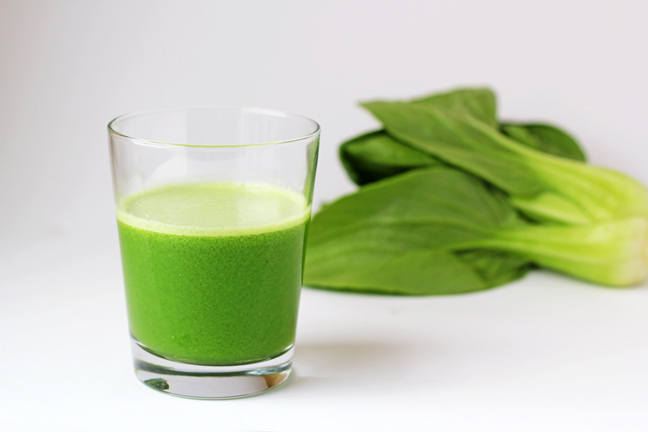 Bok-choy-juice