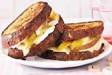 Pear-and-brie-grilled-cheese