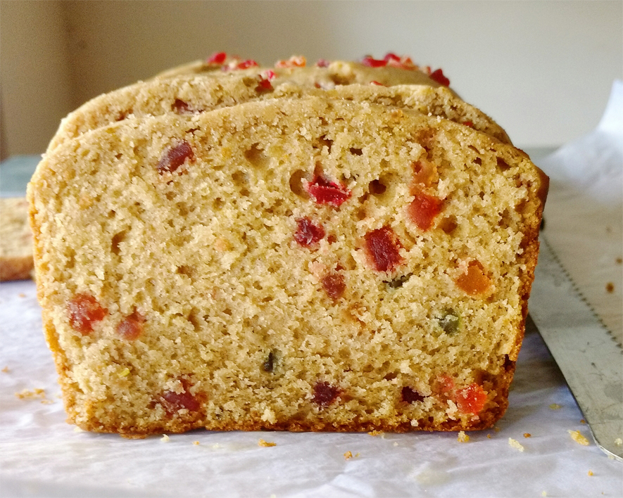 Candied fruit cake