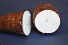 Half-cut-Cassava
