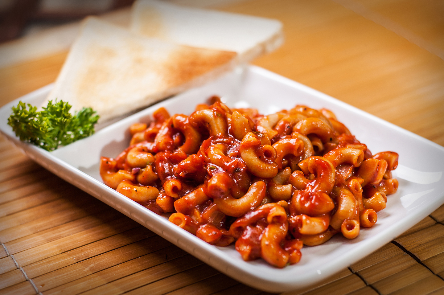 Pasta-with-catsup