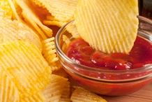 Catsup-with-chips