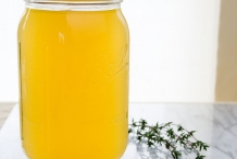 Chicken-broth-in-a-glass-jar