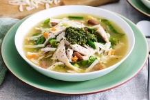 Unstrained-Chicken-broth