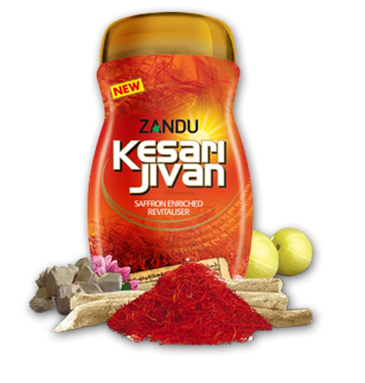 Zandu-Kesri- Jivan-Chyawanprash