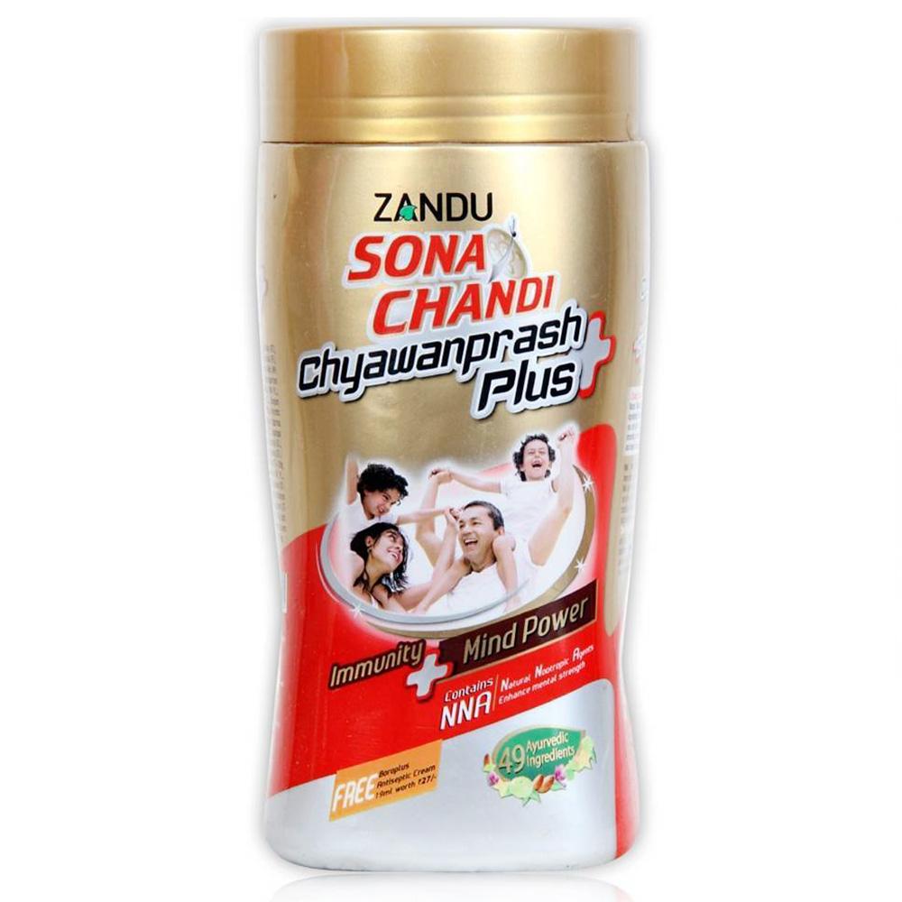 Zandu-Sona-Chandi-Chyawanprash