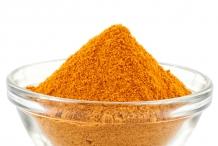 Clementine-peel-powder
