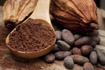 Cocoa-bean-powder