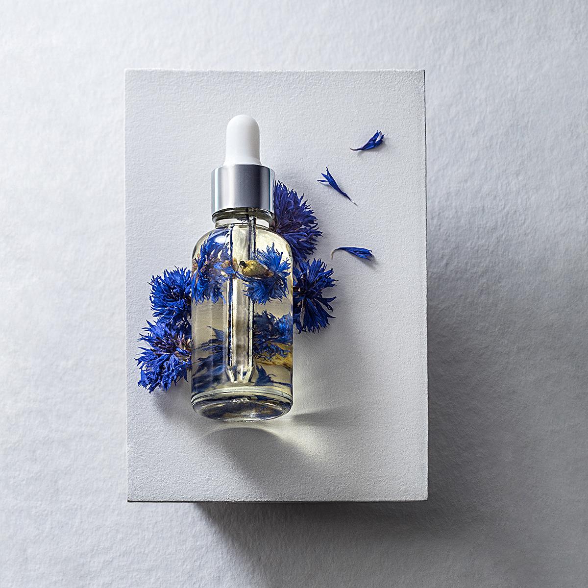 Cornflower-oil