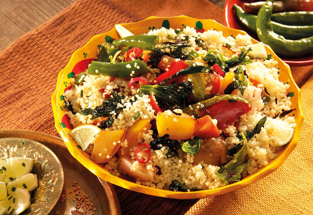 Vegetable-Couscous