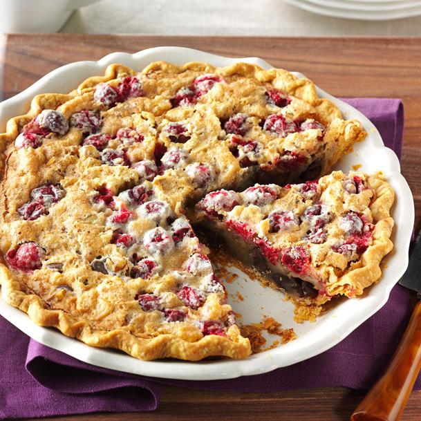 Cranberry-&-walnut-pie