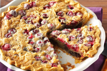 Cranberry-&-walnut-pie