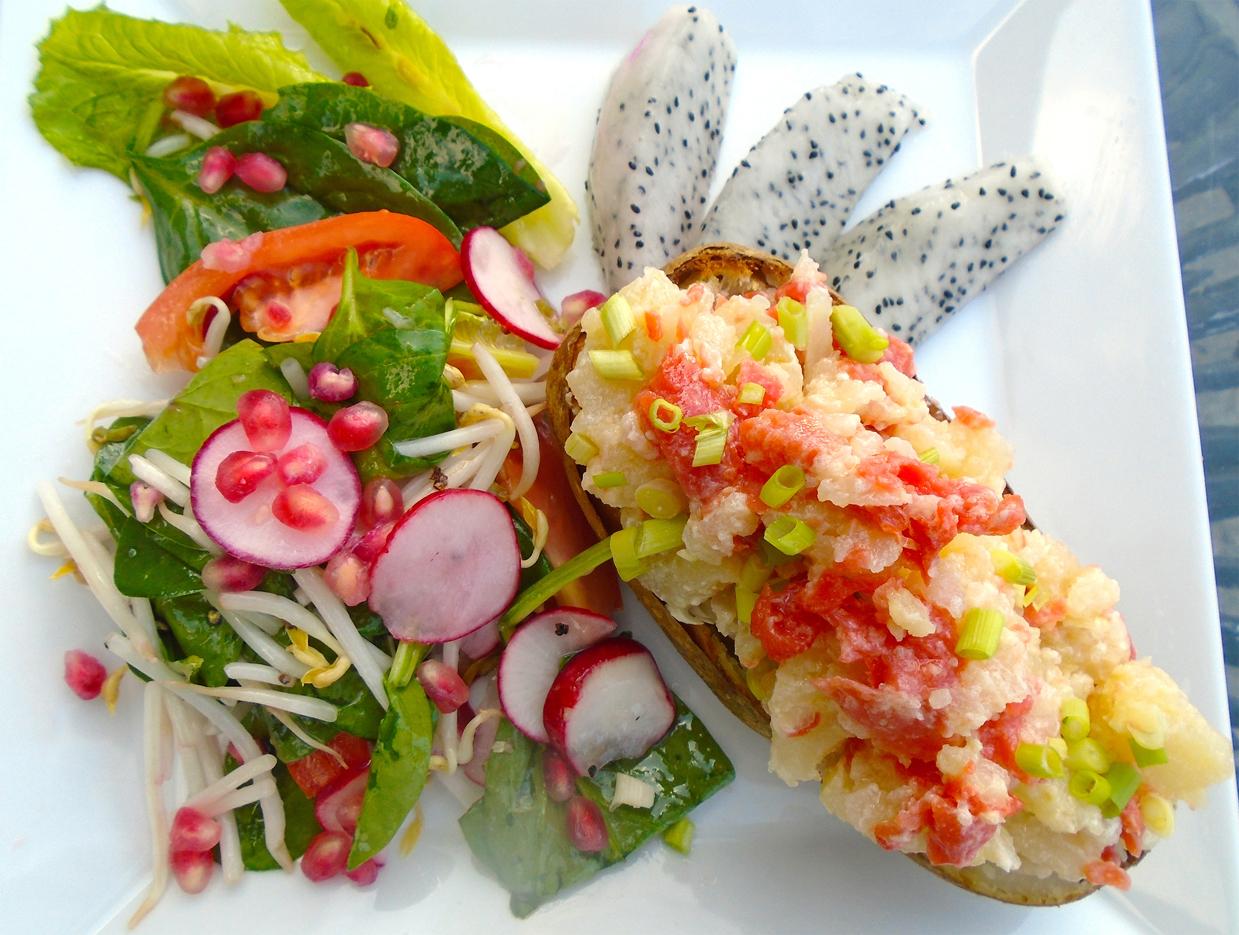 Dragon-fruit-salad