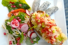 Dragon-fruit-salad