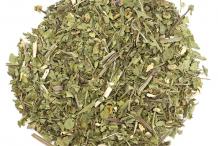 Dried-Feverfew-plant