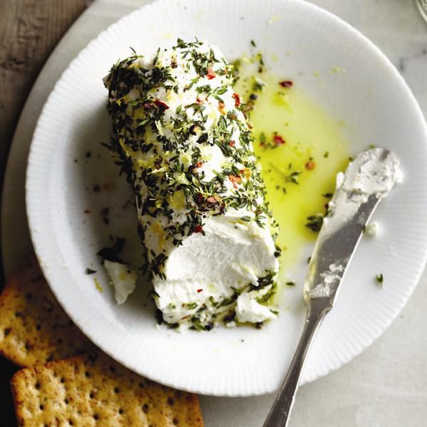 Herbed-goat-cheese