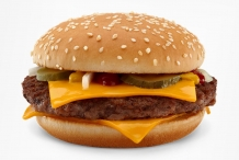 Hamburger-with-cheese