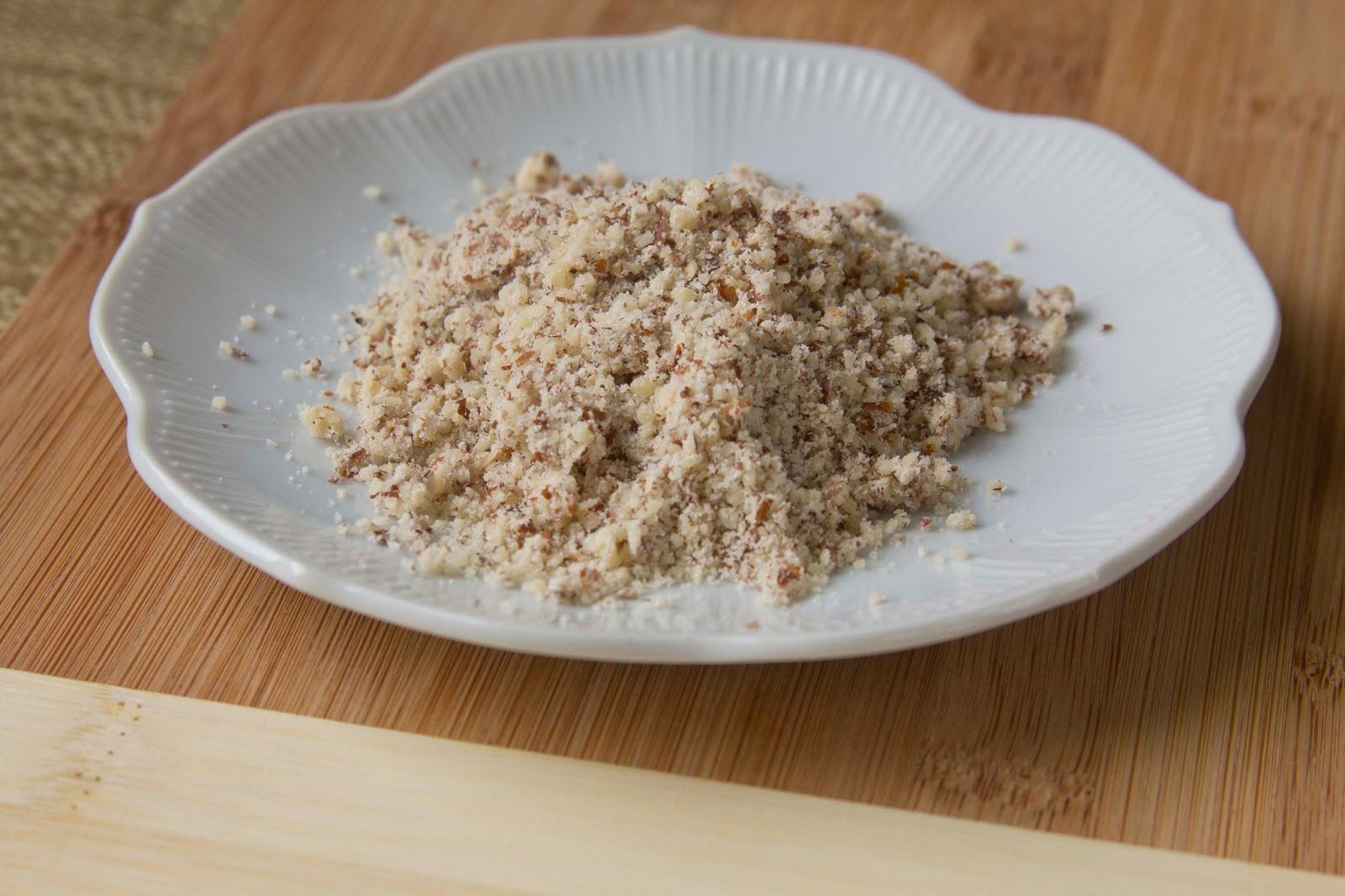 Hazelnut-flour