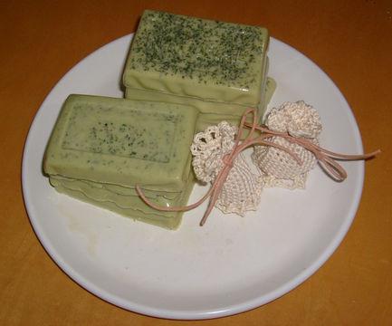 Herbal-soap-of-Lemon-balm