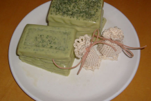 Herbal-soap-of-Lemon-balm