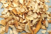 Lemon-peel-dried