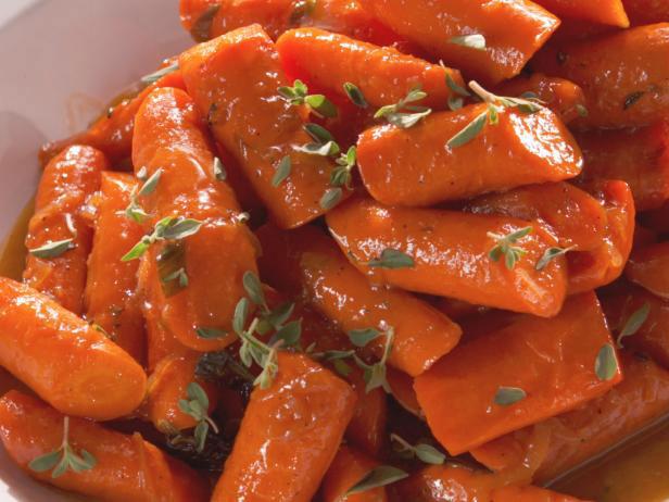 Glazed-Carrots-with-Marjoram